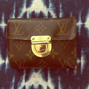 Louis Vuitton monogram Joey wallet